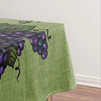 """Toalha De Mesa Uvas roxas, Tablecloth bonito do algodão, 52"""" x70"""