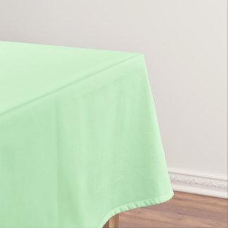 Toalha De Mesa Verde da hortelã da luz da cor da Web do código do
