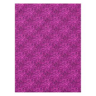 Toalha De Mesa Violeta abstrata do pop art da folha