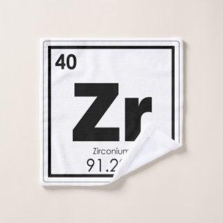 Toalha De Rosto Formul da química do símbolo do elemento químico