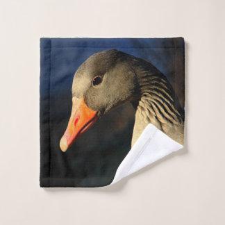 Toalha De Rosto Ganso de pato bravo europeu bonito
