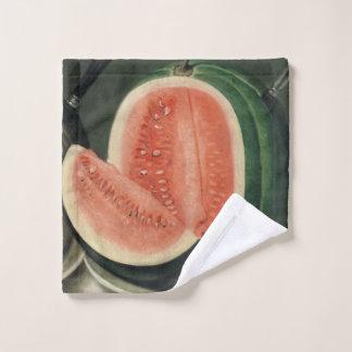 Toalha De Rosto Pano da lavagem da arte da melancia
