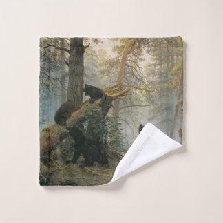 Toalha De Rosto Pano da lavagem da floresta de Shiskin