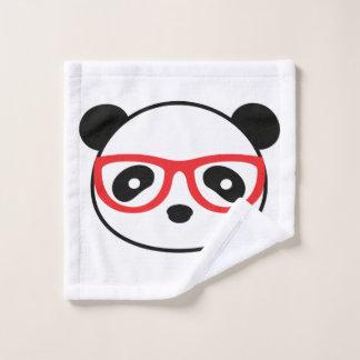 Toalha De Rosto Pano da lavagem do banheiro do urso de panda -