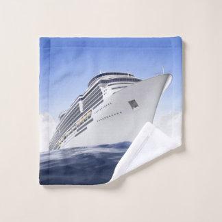 Toalha De Rosto Pano da lavagem do navio de cruzeiros
