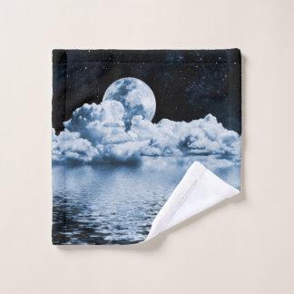Toalha De Rosto Pano ideal da lavagem do espaço do oceano