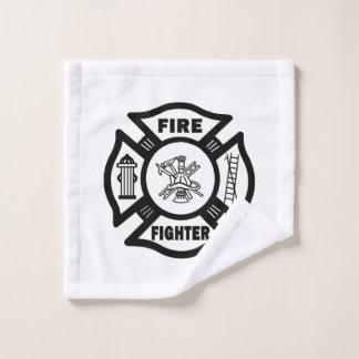 Toalha De Rosto Sapador-bombeiro