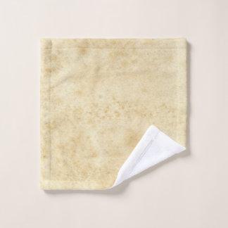 Toalha De Rosto Vintage vazio envelhecido manchado antigo