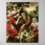 Tobias que cura a cegueira do seu pai, 1563 pôsteres