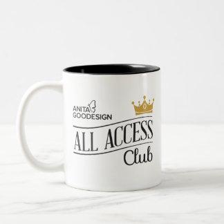 Toda a caneca do clube do acesso