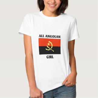 Toda a menina angolana camisetas