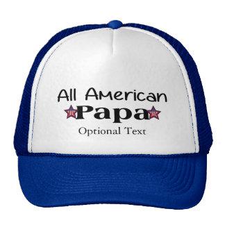 Toda a papá americana boné