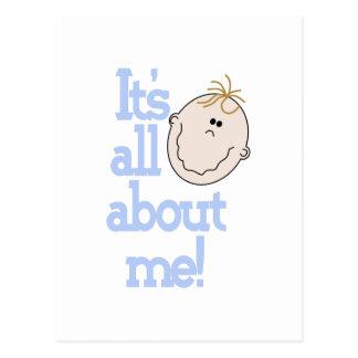 Toda sobre mim! cartão postal