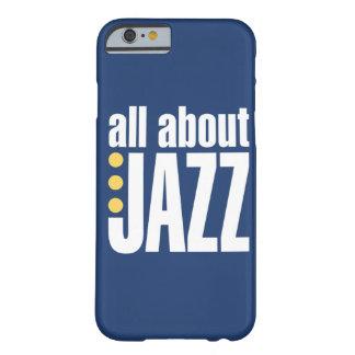 Toda sobre o caso do iPhone 6 do jazz Capa Barely There Para iPhone 6
