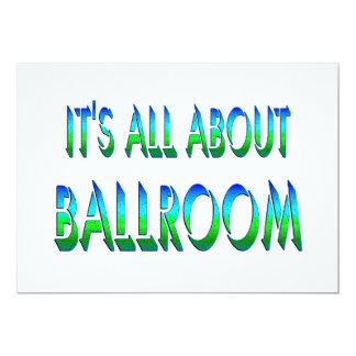 Toda sobre o salão de baile convites