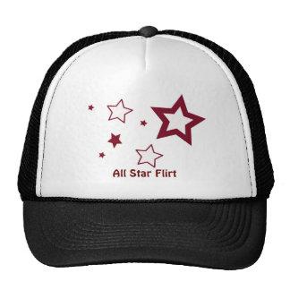 Todas as estrelas - chapéu/boné