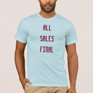 Todas as vendas finais camiseta