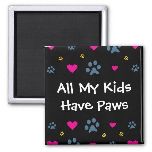 Todas minhas Miúdo-Crianças têm as patas Imã