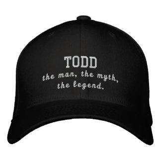 Todd o homem, o mito, a legenda boné bordado