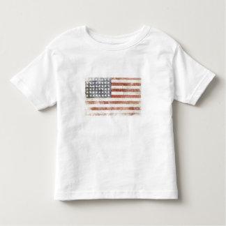 Toddle o T com a bandeira legal dos EUA Tshirt