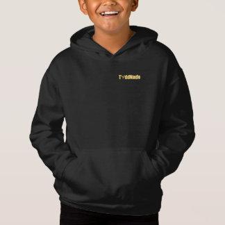 Toddnado dourado unisex do hoodie da edição
