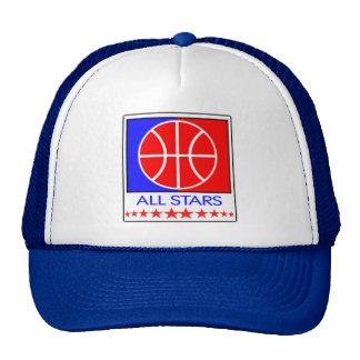 Todo o boné do basquetebol das estrelas