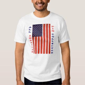 todo o coletor americano do pino t-shirt