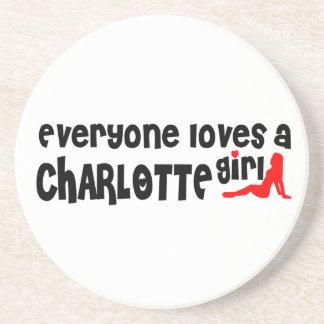 Todos ama uma menina de Charlotte Porta Copos De Arenito