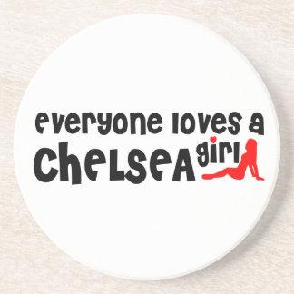 Todos ama uma menina de Chelsea Porta Copos De Arenito