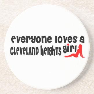 Todos ama uma menina de Cleveland Porta Copos De Arenito