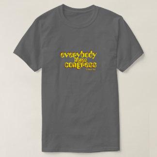 todos deia o congresso - uma camisa de MisterP T-shirt