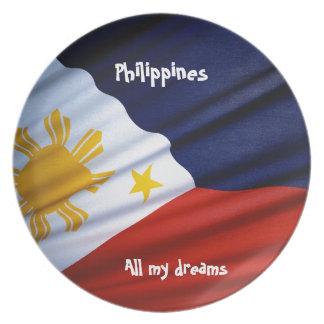 Todos meus sonhos Filipinas Pratos