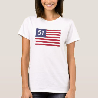Todos os 51 estados camiseta