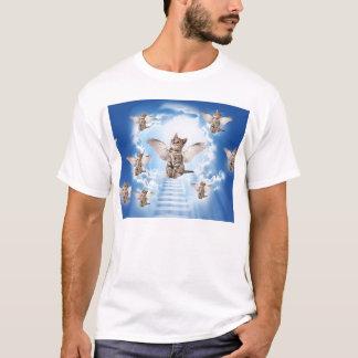 Todos os gatos vão ao céu camiseta