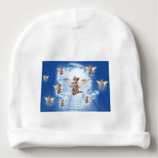 Todos os gatos vão ao céu gorro para bebê
