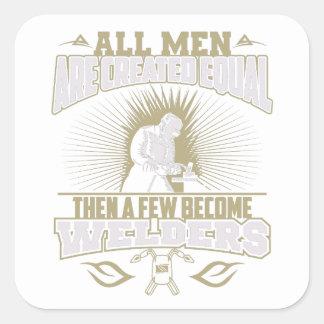Todos os homens são etiquetas iguais criadas dos