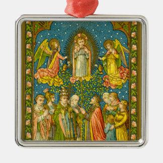 Todos os santos Adore Thee (VVP OO2) Ornamento De Metal