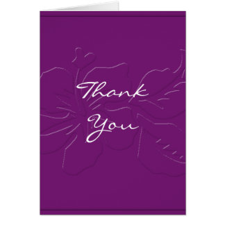 Tom da beringela em cartões de agradecimentos do