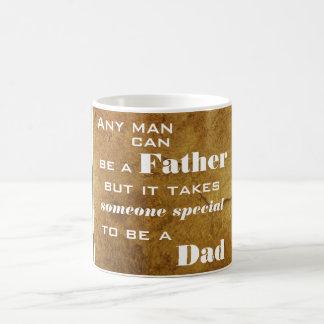Toma alguém especial para ser uma caneca do pai