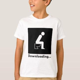 Tombadilho da transferência camiseta