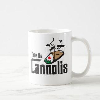 Tome a caneca de Cannolis