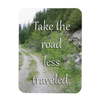 Tome a estrada viajou menos ímã