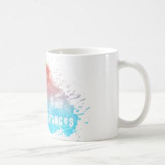 Tome a possibilidades a caneca de café artística