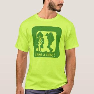 tome a uma caminhada o camiseta da segurança do ar