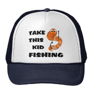 Tome esta pesca do miúdo bone