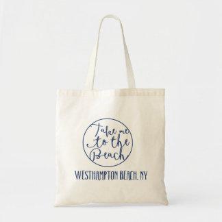 Tome-me à praia Westhampton, o bolsa de New York