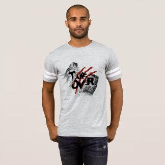 Tome sobre o t-shirt da tipografia camiseta