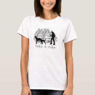 Tome uma camisa Ridgeback/Coonhound da caminhada