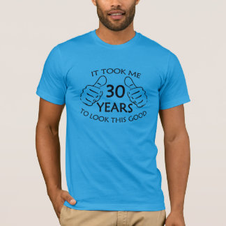Tomou-me 30 anos para olhar esta boa camisa