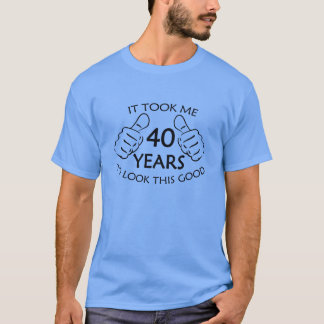 Tomou-me 40 anos para olhar esta boa camisa de T